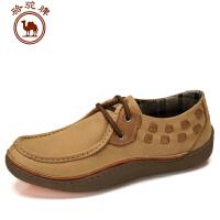 骆驼牌 秋冬 男鞋 日常休闲男士鞋子流行男鞋低帮鞋
