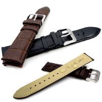 个性真皮表带 高档手表配件 防水防汗头层牛皮表带 20mm