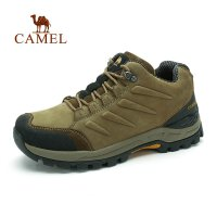 camel骆驼户外登山鞋 新款 男士 耐磨减震低帮徒步登山鞋