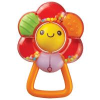 [当当自营]Auby 澳贝 摇铃系列 花儿摇铃 婴儿玩具 463113
