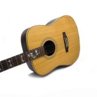 外贸出口产品 Emotion 圆角木吉他 (全单板)木吉他 全单吉他 六弦琴 单板箱琴 D型 吉他 清仓甩卖 (限量20把)全单板吉他 民谣吉他