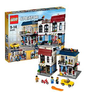 [当当自营]LEGO 乐高 CREATOR创意百变系列 单车店与咖啡厅 积木拼插儿童益智玩具 31026