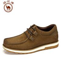 骆驼牌男鞋秋冬新款 日常休闲男士鞋子工装鞋