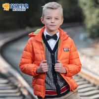 英格里奥童装冬装儿童羽绒服男童中长款韩版羽绒服LLB1747