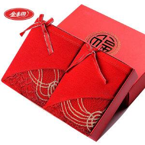 2条装 金丰田女士本命年大红性感蕾丝平角裤659