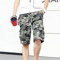 2015春夏新款男士迷彩工装短裤五分裤水浪迷彩短裤休闲工装短裤