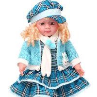 多丽丝会说话智能对话娃娃 芭比洋娃娃儿童玩具布娃娃可爱女孩玩具遥控器版