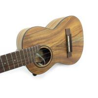 (支持货到付款)Eleuke 电箱乌克丽丽 韩国 23寸C型电声尤克里里 专业电箱夏威夷小四弦 ukulele 四弦琴电箱琴  内置拾音器 (总长度60CM)可接MP3和耳机 ACP-C  送(琴套+3个匹克+教程一本)