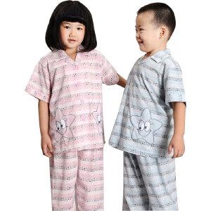 金丰田 儿童卡通睡衣套装 儿童节礼品 男女孩家居服1746