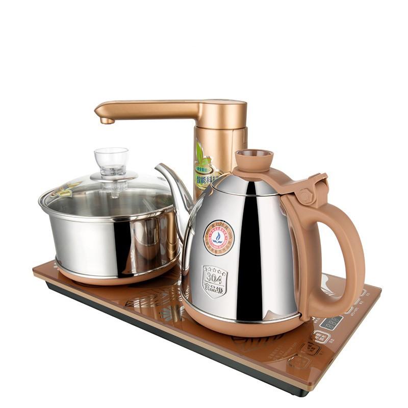 金灶v2全自动上水电热水壶电茶壶抽水茶具 全智能茶艺炉