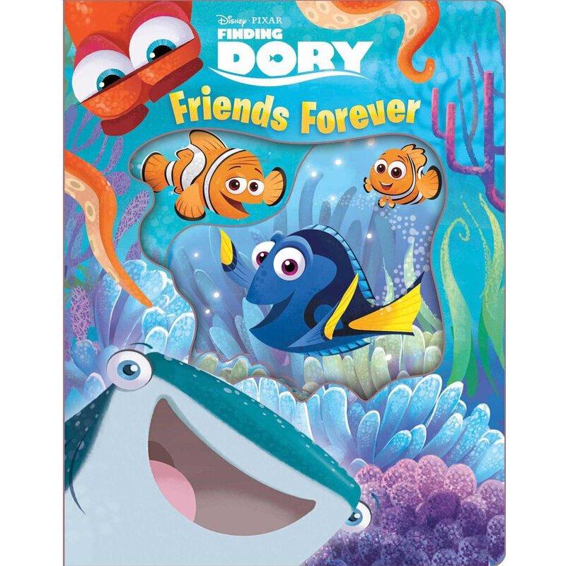 英文原版 迪士尼海底总动员2 寻找多莉 disneya pixar finding dory