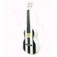 (支持货到付款)Vorson 24寸  彩印 尤克里里 ukulele 乌克丽丽 小四弦 夏威夷小吉他 乌克丽丽 四弦琴 AUP-24-68 黑白条纹 简约 新款 送(琴套+3个拨片+教程一本)