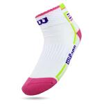 威尔胜(Wlison)网球袜子 羽毛球运动袜 纯棉女袜 加厚毛巾袜