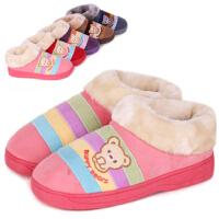 【支持礼品卡支付】棉拖鞋冬季保暖拖鞋情侣拖鞋全包跟拖鞋男女厚底家居鞋月子鞋