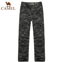 camel骆驼户外迷彩长裤 男款新款 迷彩裤男长裤