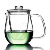 HEISOU 玻璃茶壶 耐高温过滤泡茶杯加热泡花茶壶茶具茶器 HS-32