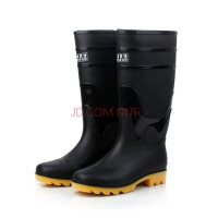 男士雨靴防滑雨鞋PVC塑胶劳保雨鞋高筒耐酸碱水鞋