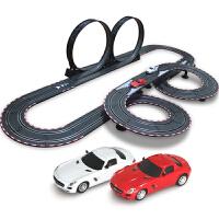 音速风暴 轨道赛车电动遥控轨道汽车 儿童玩具套装 8米双人电动TR-05