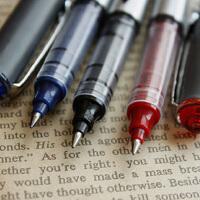 单件包邮  日照鑫 白雪  155 166直液式走珠笔 0.5 签字笔中性笔 (12支装)