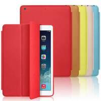 Askin苹果iPad Air2 iPad5 mini3 mini2/1 Smart Case 休眠保护套/皮套 无缝全包边 三折支架 iPad5保护套 iPad Air皮套 iPad mini保护套【赠贴膜+防尘塞】