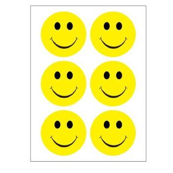 好吉森鹤多功能不干胶微笑服务粘贴纸笑脸标签哭脸手指花朵很多图案款