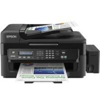 爱普生L551墨仓式网络传真一体机 EPSON L551原装连供多功能一体机 爱普生L551网络一体机 带网络打印