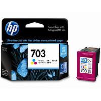 惠普703彩色墨盒 HP F735 K109 K209一体机形成彩色墨盒 HP703