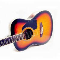 Jackson  吉他 38寸民谣吉他 民谣吉他  吉他 初学 入门 高端琴型 亲民价位 polar body (两色可选:深木色 太阳色)DG-12 (*品:背包+《即兴之路》+CD+扳手+拨片+一弦+背带)