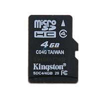 金士顿TF卡 4G MicroTF 存储卡