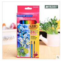 【Marco马可】专业书写学生涂色绘画12色水溶彩色铅笔色4120-12CB