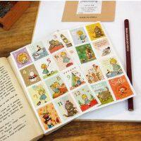 umi韩版爱丽丝贴画 可爱文具DIY相册贴纸 卡通邮票装饰贴纸