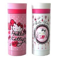 包邮 hello Kitty  220ML卡通KT猫不锈钢真空保温杯子 隔热女士办公杯 防漏直杯身随手水杯 2色可选!