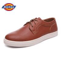 Dickies2016春季新款男士休闲皮鞋英伦圆头潮流板鞋161M50LXS15