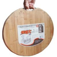 包邮 味老大 竹制圆形莱板 7129 竹菜板 砧板 楠竹板毛竹 菜板