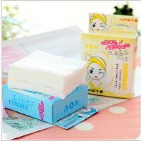 韩国美容工具好帮手化妆棉 卸妆棉 50片装 脸部美容用具