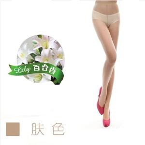 浪莎丝袜 夏款超薄包芯丝加裆连裤袜 百合清香丝袜 10条