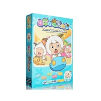 喜羊羊与灰太狼dvd喜洋洋与灰太狼儿童动画片光盘卡通光碟片