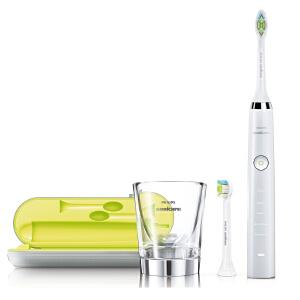 【店长推荐】Philips飞利浦电动牙刷 充电式 声波牙刷 HX9332 附刷头 全国联保 可水洗