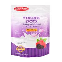 【当当自营】JelleyBrown 美国原装进口覆盆子黑莓味酸乳溶豆28g(团购电话:010-57992568)