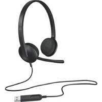 【罗技】H340 USB耳机麦克风 黑色
