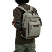 书包双肩包旅行包学院风14寸15寸笔记本电脑背包休闲包