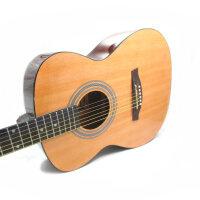 Jackson 云杉木面板 标准 40寸 (两色可选:黑色 原木色)吉他 圆角吉他 木吉他 民谣吉他 民谣吉他 箱琴 初学 入门 中级通用 DG-5 (送: 背包 吉他拨片  一弦 背带 扳手 《即兴之路》初中级教程+CD)