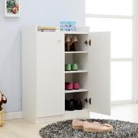 美达斯 双门鞋柜 简约超薄鞋柜 小户型门厅玄关简易隔断鞋架子女鞋 置物收纳柜