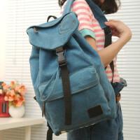 【支持礼品卡支付】旅行包双肩包韩版帆布包背包潮包情侣包休闲学生包书包