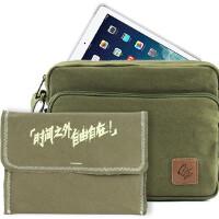苹果iPad Air iPad4/3/2/1 iPad mini2/1帆布多功能单肩斜挎包/内胆包 可装进保护套 苹果iPad5保护套 iPad Air保护套 iPad4保护套 ipad mini保护套 ipad mini2保护套-0825