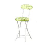 [当当自营]好事达 布面靠背钢折椅绿色条纹7218 椅子 折叠休闲椅 电脑椅