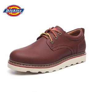 Dickies工装鞋 男士休闲鞋系带低帮潮流鞋子男美式户外男鞋161M50LXS03