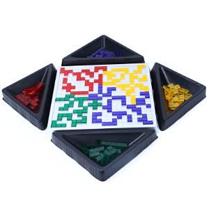 橙爱 小乖蛋 角斗士棋4人版方格游戏 俄罗斯方块桌面游戏 益智玩具