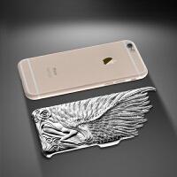 天使之翼 iPhone6 Plus 4.7寸/5.5寸 电镀浮雕保护壳手机壳 iPhone6手机壳 苹果6手机壳 苹果手机套 苹果手机壳 苹果6手机套/保护套/外壳/配件