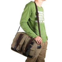 【支持礼品卡支付】男包单肩包斜跨包韩版帆布包商务休闲包14寸电脑包手提包